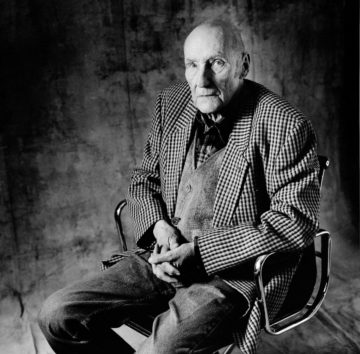 william burroughs by Christian Coigny