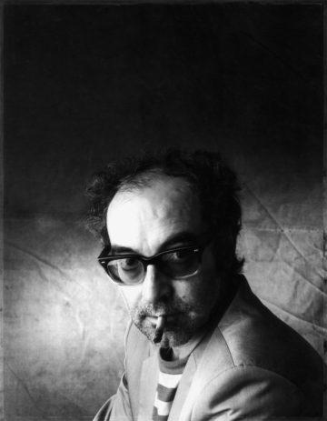 jean luc godard portrait by christian coigny