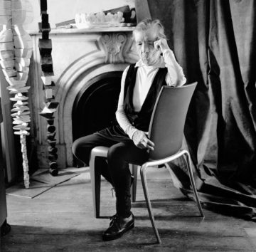 louise bourgeois by Christian Coigny
